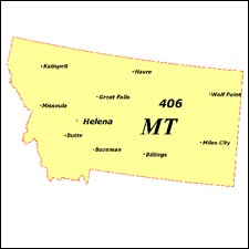We have dial-up Internet numbers for the area codes in Montana: 406